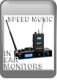 Wireless In Ear Monitor systems: Speed Music: online or in-store