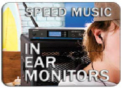 LD Systems MEI One Wireless In Ear Monitor systems for guitar players: Speed Music: online or in-store
